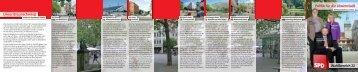 Flyer Wahlbereich 22 - SPD Unterbezirk Braunschweig