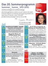 Sommer 2010-Einleger A_v3.indd - SPD Unterbezirk Braunschweig