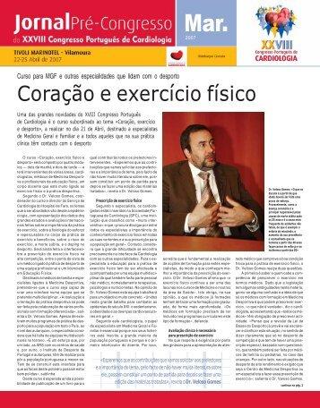 2006 TM 08 Primeiro A 1157 - Sociedade Portuguesa de Cardiologia