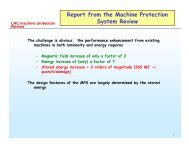 Recommendations of the Machine Protection Review