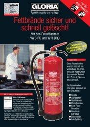 Datenblatt - Brandschutz Weber GmbH