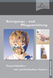 Reinigungs - und Pflegeanleitung - Meistergold