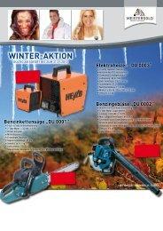 Winter-aktion - Meistergold