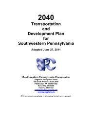 Download the entire 2040 Plan (PDF, 30.1 MB) - Southwestern ...