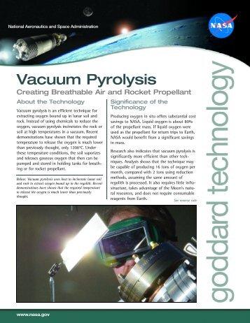 Vacuum Pyrolysis