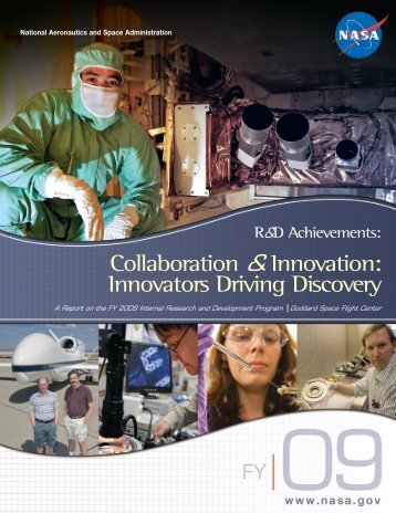 Collaboration & Innovation - NASA's Goddard Technology ...