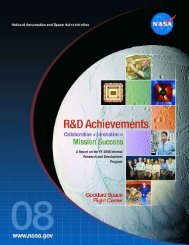 A Report on the FY 2008 Internal Research and Development ...