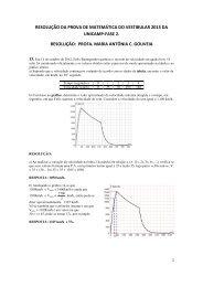resolução da prova de matemática do vestibular 2013 da unicamp ...