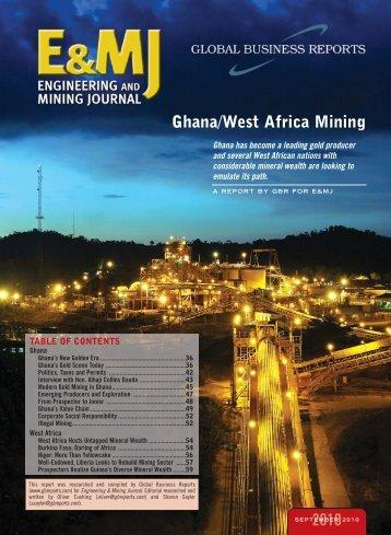 Ghana/West Africa Mining 2010 - GBR