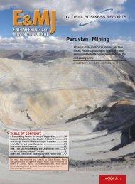 Peruvian Mining 2011 - GBR