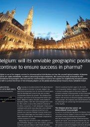 Belgium Pharmaceuticals 2009 - GBR