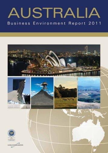 Australia Business Environment Report 2011 - GBR