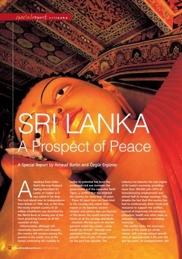 Sri Lanka Textiles 2003 - Global Business Reports