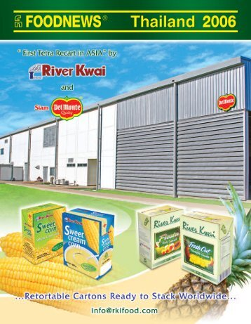 Thailand Food Industry 2006 - GBR