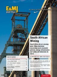 South African Mining - GBR