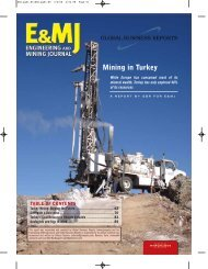 Mining in Turkey 2008 - GBR