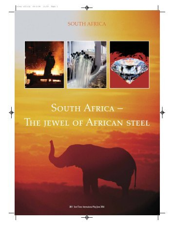South Africa – The jewel of African steel - GBR