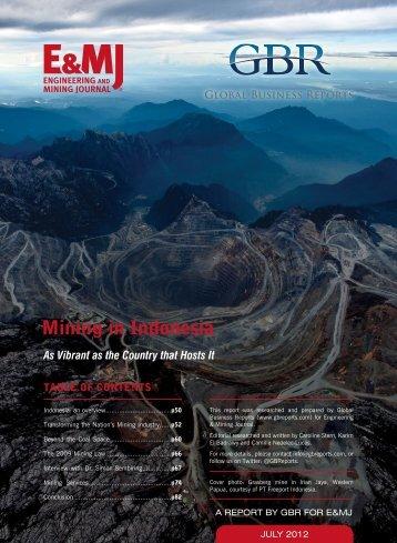 Indonesia Mining 2012 - GBR
