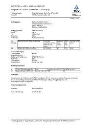 GUTACHTEN zur ABE Nr. 46680 nach §22 StVZO Anlage 45 zum ...