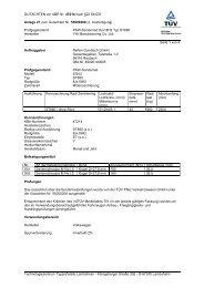 GUTACHTEN zur ABE Nr. 47214 nach §22 StVZO Anlage 27 zum ...