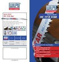 Download Flyer HC 19 R as PDF - Wilpu