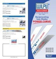 Download Flyer Power-Curve as PDF - Wilpu