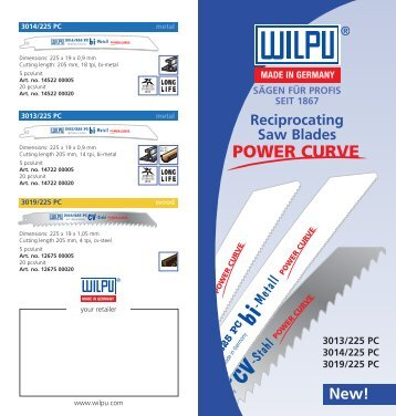 Download Flyer Power-Curve as PDF - Wilpu