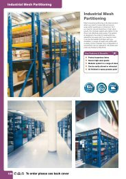 Industrial Mesh Partitioning