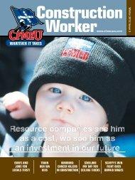 Winter Issue 2012 - cfmeu