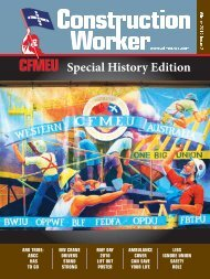 Winter Issue 2010- 'Special History Edition' - cfmeu