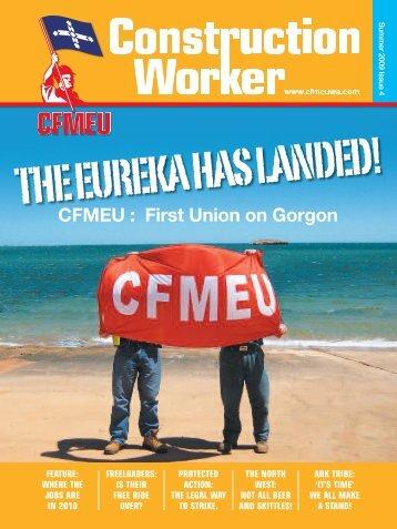 CFMEU : First Union on Gorgon