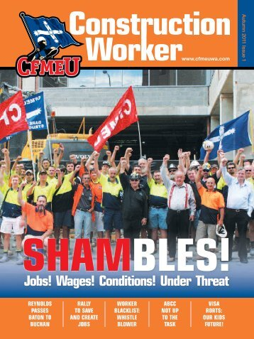 Autumn Issue 2011 - cfmeu
