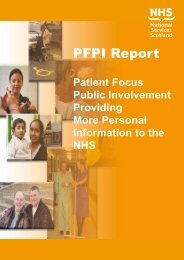 PFPI Report - Information Services Division