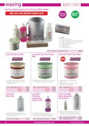 waxing - Just Care Beauty