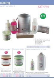 Just Care Waxing Starter Kit - Beauty Supplies Online