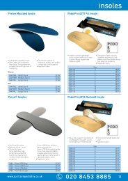Gel Insoles - Just Care Beauty