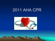 2011 AFD CPR