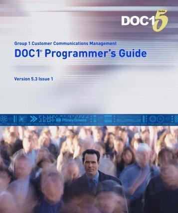 DOC1 Programmer's Guide