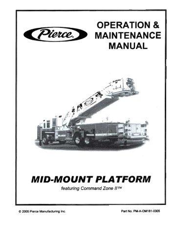 Mid-Mount Platform Manual
