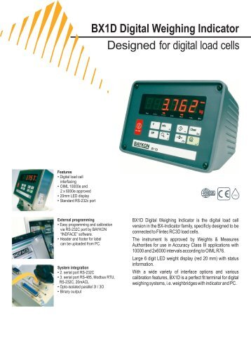 Load Cell Indicators : Model gse scales digital indicators and load cells