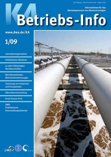 KA-Betriebs-Info Folge 1/2009 - KAN