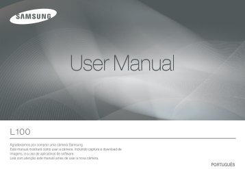 Manual Câmera Samsung L-100 - Componentes para Câmeras ...