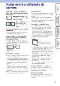 Manual da Cyber-shot - Componentes para Câmeras Digitais? - Page 3