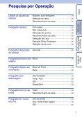Manual da Cyber-shot - Componentes para Câmeras Digitais? - Page 7