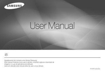 Manual Câmera Samsung I-8 - Componentes para Câmeras Digitais?
