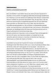 2012-12-10 Pressebericht Stadtrat - SPD Ortsverein Hachenburg
