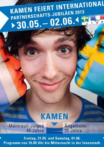 Festschrift Partnerschaftsfest 2013 - SPD Kamen