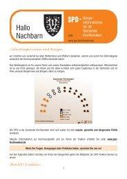 Hallo Nachbar - SPD-Kirchhundem