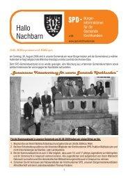 Hallo Nachbarn 4.2009 NEU.cdr - SPD-Kirchhundem