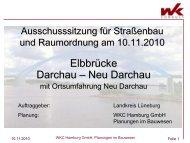 Vorstellung der Bauplanung - SPD-Kreistagsfraktion Lüneburg